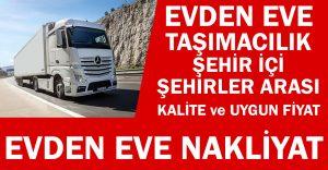 Şehirler Arası Nakliyat istanbul
